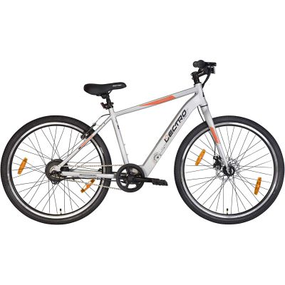 Lectro Kinza 27T Single Speed Electric Cycle | 3 Level LED Display | Max Speed of 25kmph | 25-40 KMS Per Charge | 95% assembled