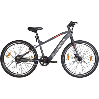 Lectro Clix 26T Single Speed Electric Cycle | 3 Level LED Display | Max Speed of 25kmph | 25-40 KMS Per Charge | 95% assembled