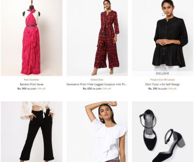 Minimum 70% Off on Women's Clothing | AJIO Collection for Clothing, Footwear & Tech Accessories
