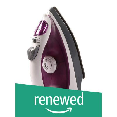 (Renewed) Havells Sparkle 1250-Watt Steam Iron (White/Purple)