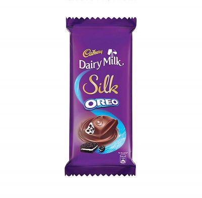 Cadbury Dairy Milk Silk Oreo Chocolate Bar, 5 x 60 g