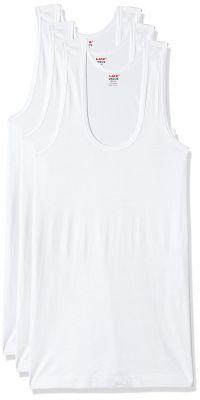 LUX VENUS Men's Cotton Vest (Pack of 3)...