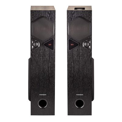 Thomson  TSP10 100Watts Bluetooth Tower Speakers with AUX/USB/FM & Mic for Karaoke