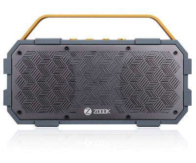 Zoook Rocker Torpedo (50W) Bluetooth Speaker with AUX-In/Hands-free/Heavy Bass/Waterproof and shock-proof design Speaker