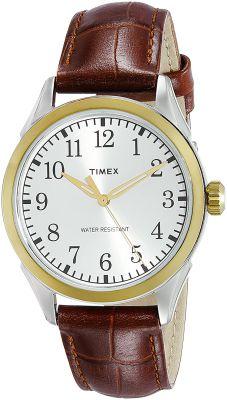 Timex Analog Silver Dial Men's Watch - TW2P99500