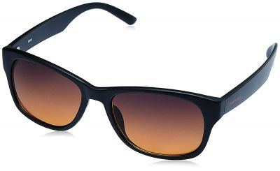 Fastrack Wayfarer Men's Sunglasses - (PC001AM16 | 54 | Amber)