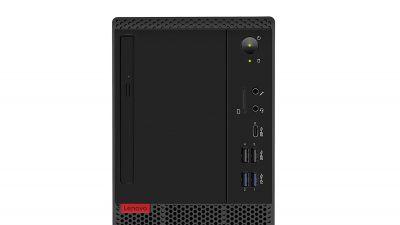 Lenovo Think Centre M720 Intel 9th Gen Core i3 Tower Desktop (4GB RAM/ 1TB HDD/DOS/Black), 10SRS31E00
