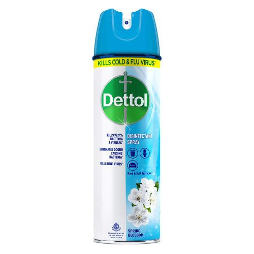 Dettol Multi-Purpose Disinfectant Spray For Hard & Soft Surfaces, Spring Blossom- 170 g