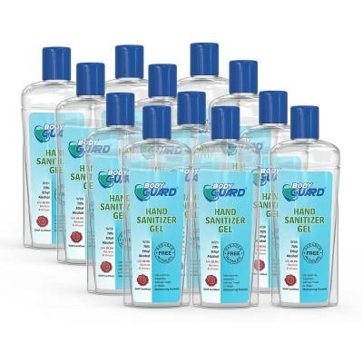 Aryanveda Herbals Bodyguard Hand Sanitizer Disinfectant Gel 100 ml Each, Pack of 6 Bottle  (6 x 16.67 ml)