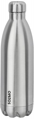 Amazon Brand - Solimo Double Walled Insulated Stainless Steel Flask (1000 ml)
