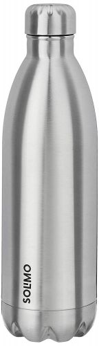 Amazon Brand - Solimo Double Walled Insulated Stainless Steel Flask (750 ml)