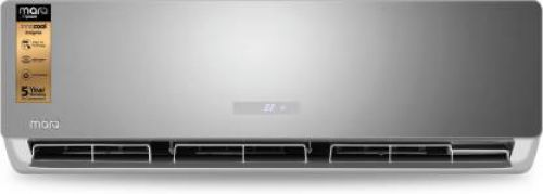 MarQ by Flipkart 1.5 Ton 5 Star Split Inverter AC - IDU(Tinted Mirror) ODU(White) (FKAC155SIAINS, Copper Condenser)