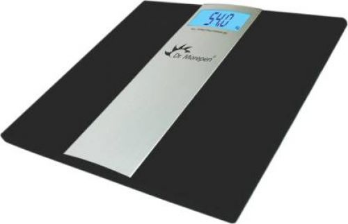 Dr. Morepen Ultra Slim Weighing Scale (Black)