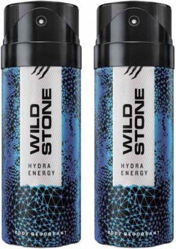 Wild Stone HYDRA ENERGY ( PACK OF 2) Deodorant Spray - For Men & Women  (150 ml, Pack of 2)