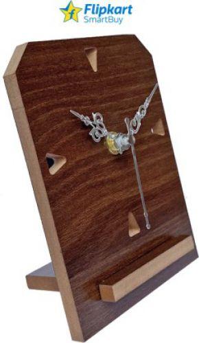 Flipkart SmartBuy Analog Brown Clock