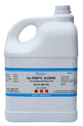 Maxxic IPA Iso-Propyl Alcohol 99.9% Hand Sanitizer 5 Ltrs