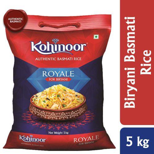 Kohinoor Royale Authentic Biryani Basmati Rice, 5 Kg