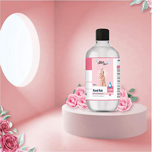 Mirah Belle - Hand Cleanser Sanitizer - 200 ml - Vegan, Cruelty Free - Best for Men, Women and Children - Sulfate and Paraben Free