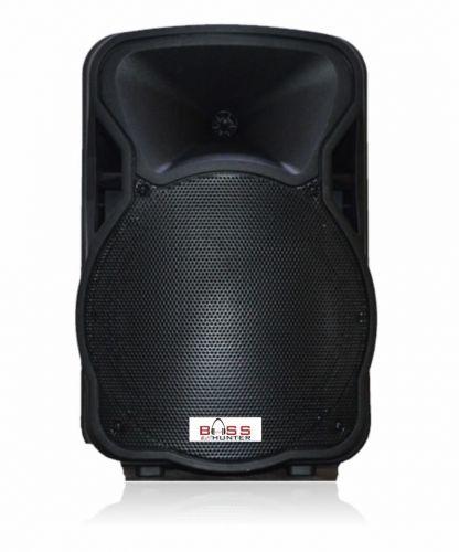 Persang Karaoke FL-2604 Flamingo Bluetooth Trolley Portable Speaker with Wireless Microphones (Black)