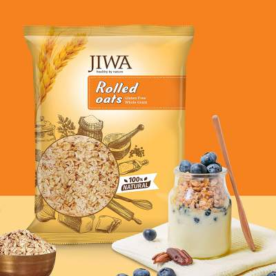 JIWA healthy by nature Rolled Oats 900 Grams