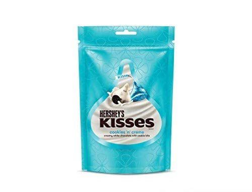 Kisses Hersheys Cookies N Creme Pouch, 12 X 100 g