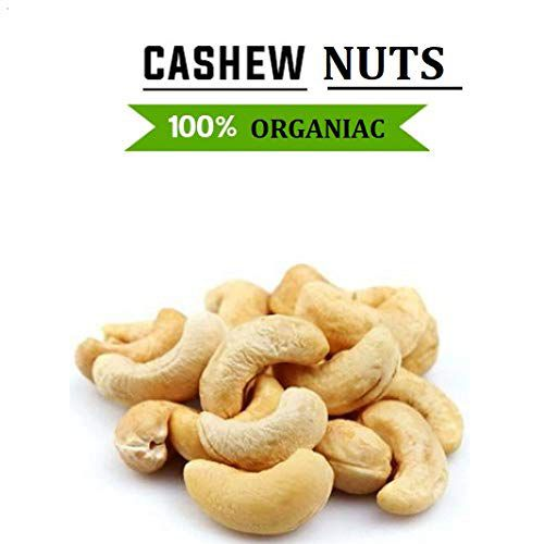 Organiac 100% Natural Whole Cashew Nut (Kaju) 250g