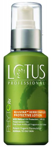 Lotus Herbals Professional Phytorx Rejuvina Herbcomplex Protective Lotion, 100ml