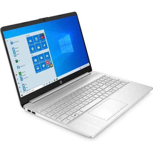 HP 15s eq0007au 15.6-inch Laptop (3rd Gen Ryzen 3 3200U/4GB/256GB SSD/Windows 10/MS Office 2019/Radeon Vega 3 Graphics), Natural Silver