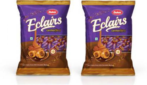 Dukes Eclairs Chocolate Candy (2 x 200 g)