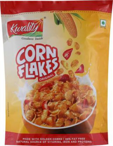 Kwality Original Corn Flakes (800 g, Pouch)