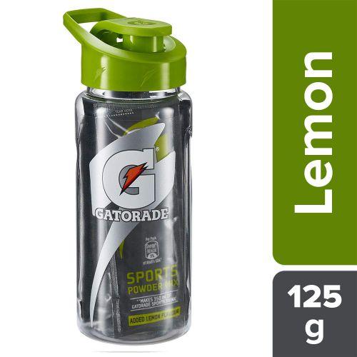 Gatorade Sports Drink Powder-Lemon Flavour- Sipper Pack (5x25g),Pet Bottle