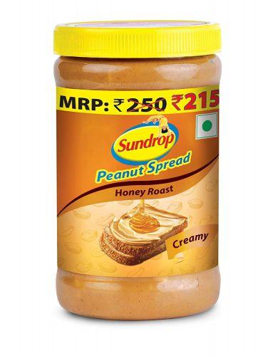 Sundrop Peanut Spread Honey Roast Creamy, 462g