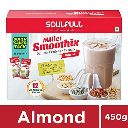 Soulfull Smoothix (Almond, 450g)