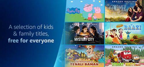 PrimeVideos: Kids & Family Show Free for Everyone
