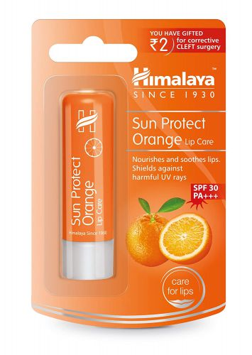 Himalaya Sun Protect Orange Lip Care - 4.5 g