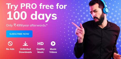 Hungama Music free for 100 Days