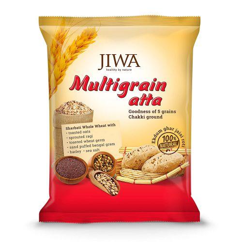 Jiwa Healthy by Nature Multigrain Atta, 1Kg