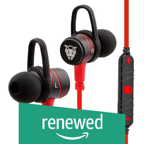 (Renewed) Ant Audio H56 Bluetooth Metal in Ear Stereo Bass Headphone (Red)