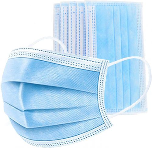 Loxxo® Disposable Face Masks 3-Ply with Comfortable Earloop (80 pcs)