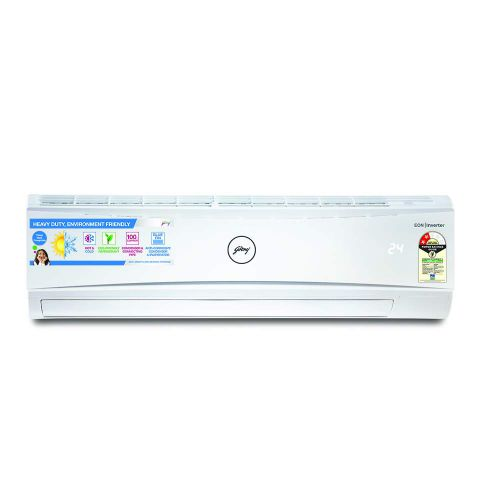 Godrej 1.5 Ton 2 Star Hot & Cold Split AC (Copper GSH 18LTC2-WSA Split White)