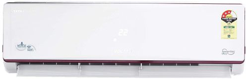 Voltas 1.4 Ton 3 Star Wi-Fi Inverter Split AC with Amazon Alexa (Copper 173VWZJ White)