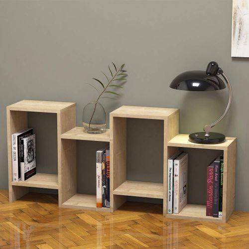 Bravo Home Hydra Bookcase (Safir Oak)