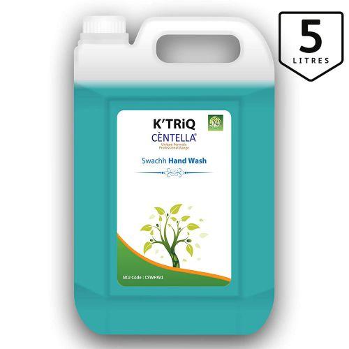 K'TRiQ Centella Swach Hand Wash Liquid Hand Cleanser - 5 Liter