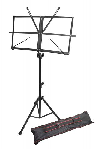 Windsor 050151-BK Music Stand with Bag (Black)