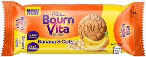 Cadbury Bournvita Banana and Oats Biscuits (46.5 g)
