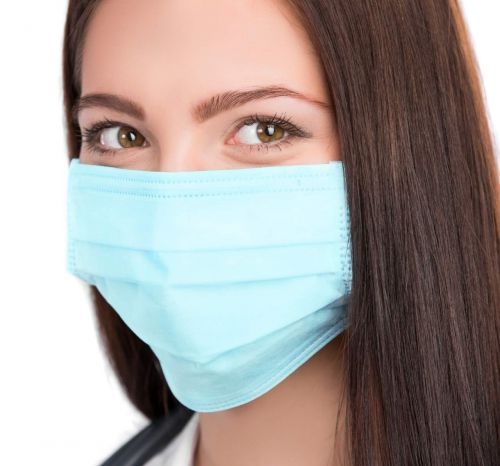 Mediweave 3 ply surgical mask with non-woven filter 20 gsm (Pack of 50)