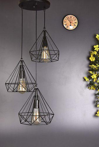 Tu Casa Designer Black Pendent Lights