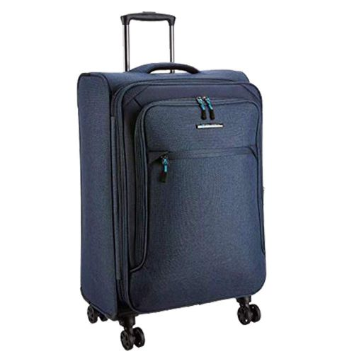 Teakwood Synthetic 20 cms Blue Hardsided Check-in Luggage (TR_T_14_Blue_S)