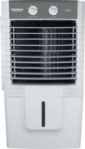 Maharaja Whiteline 10 L Room/Personal Air Cooler (White, Grey, Alpha (CO-136))