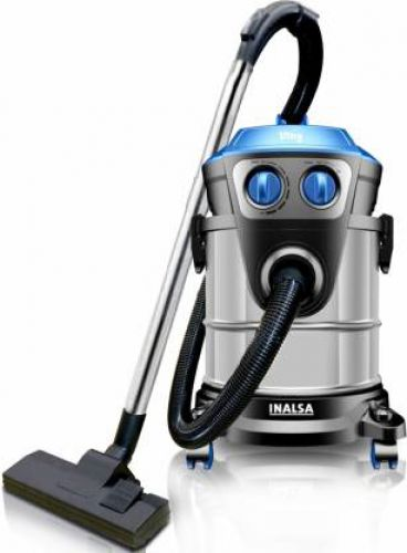 Inalsa Ultra WD21 Wet & Dry Vacuum Cleaner (Black, Blue)